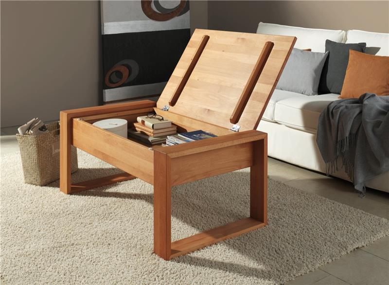 couchtisch wohnzimmertisch truhentisch tisch buche massiv massivholz mit klappe. Black Bedroom Furniture Sets. Home Design Ideas