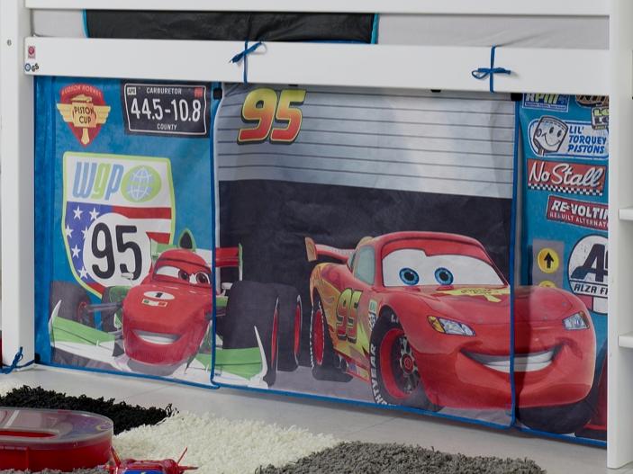 Etagenbett Vorhang Auto : Vorhang cars hochbett u2013 zuhause image idee