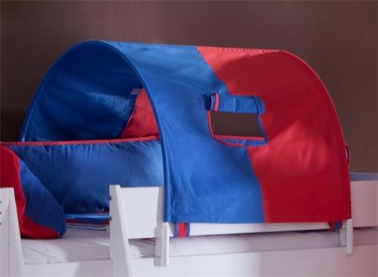 tunnel 75 cm f r hochbett spielbett etagenbett blau rot. Black Bedroom Furniture Sets. Home Design Ideas