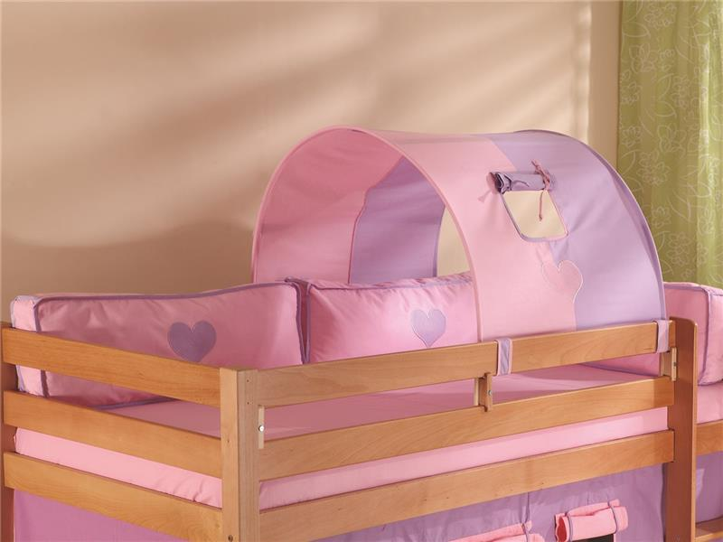 tunnel 75 cm f r hochbett spielbett etagenbett purple rosa. Black Bedroom Furniture Sets. Home Design Ideas