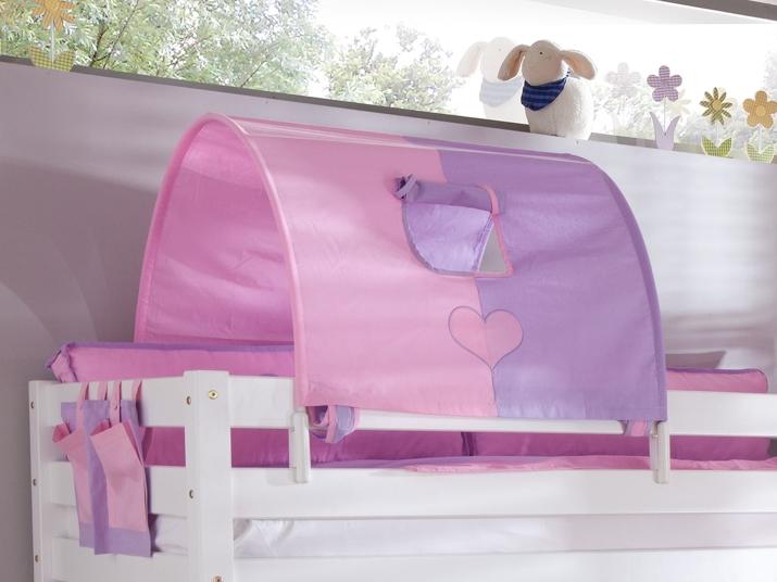 tunnel 75 cm f r hochbett spielbett etagenbett purple rosa. Black Bedroom Furniture Sets. Home Design Ideas