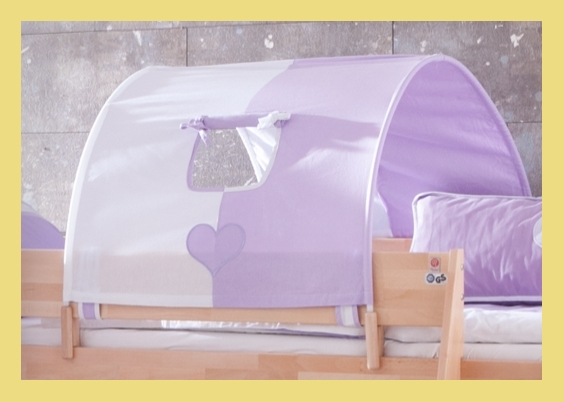 tunnel 75 cm f r hochbett spielbett etagenbett purple wei. Black Bedroom Furniture Sets. Home Design Ideas