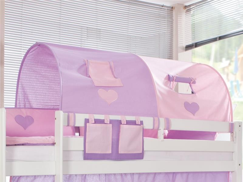 tunnel 155 cm f r hochbett spielbett etagenbett purple. Black Bedroom Furniture Sets. Home Design Ideas