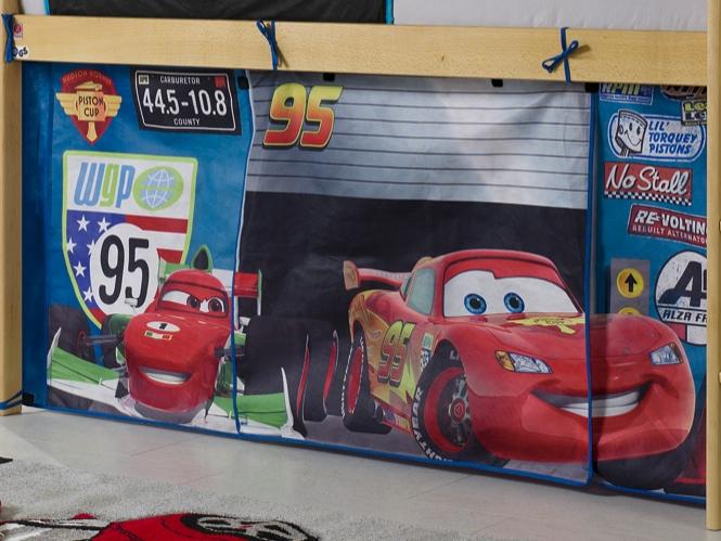 Etagenbett Cars : Vorhang hochbett cars u2013 zuhause image idee