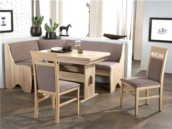 eckbankgruppe tischgruppe essecke eckbank tisch st hle sonoma eiche rumba ii ebay. Black Bedroom Furniture Sets. Home Design Ideas